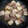 工程写真は多いですが作るのは簡単「豚バラ肉とこんにゃくの味噌煮」&「毎日新聞さん連載掲載日でした」