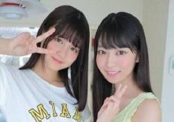 【ぐうかわ2ショット】中村麗乃ちゃんと阪口珠美ちゃんすこな奴おる???