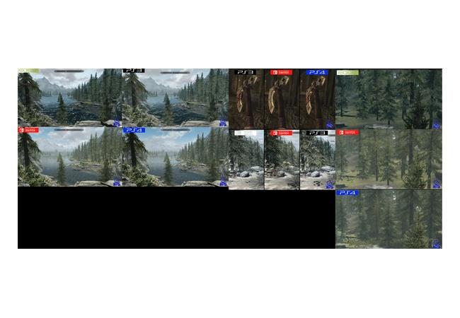 Switch版『スカイリム』他ハードとグラフィック比較した映像・画像公開!