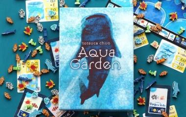 『レビュー14:戦略性が増した、アクアガーデン上級ルール+拡張(Aqua Garden)』の画像