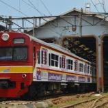 『103系E21,E22編成廃車回送(1月8日)』の画像