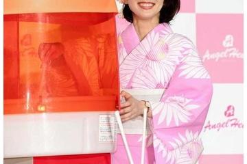 吉岡里帆さん(26)、ピンクの浴衣を着てしまい