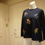 『KEITA MARUYAMA(ケイタマルヤマ)フラワー刺繍ニット』の画像