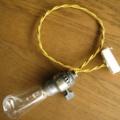 ビンテージ アメリカ ランプソケット コード シーリング付 rs-h030