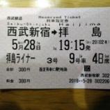 『西武拝島線へ着席サービス開始 「拝島ライナー3号」に乗車してきました!』の画像