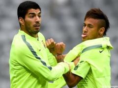 【画像】バルセロナのネイマールとスアレスが練習中に喧嘩!?