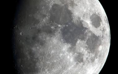 『月齢10.1のお月様』の画像