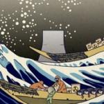 【中国】外交部報道官の呆れる下品さ!「富嶽三十六景」パロディ画で日本の処理水放出を皮肉る