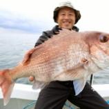 『9月21日(土) 釣果 スーパーライトジギング マダイ6匹!!』の画像
