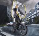 画期的な自転車用「雨よけ」シールド発売(画像あり)