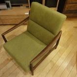 『【北欧テイスト・日進木工の家具2012】一人掛けソファ・BSC-529・ナラFB』の画像