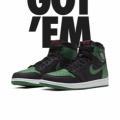 Nike Air Jordan 1 Retro High OG Pine Green Black (2020)