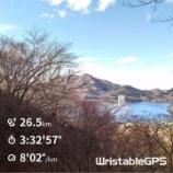 『榛名山バーティカルランニングに挑戦』の画像
