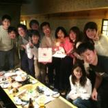 『修士課程修了のお祝い会♪』の画像