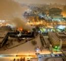 【画像】 ロシア最大規模の図書館が炎上 貴重な文書100万点焼失 「文化のチェルノブイリだ」