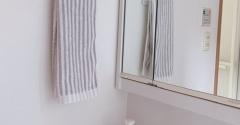 かたづけ祭!【洗面所のタオルバー設置】。。