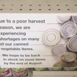 『異常気象による食料不足の予兆』の画像