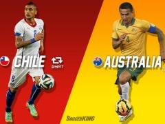 【W杯】チリ快勝!!オーストラリアを3-1で下す!(動画あり)