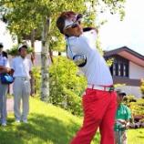 『【はまつースポーツ】浜松のプロゴルファー山本健太郎選手が奈良オープンで決勝ラウンドに進出!』の画像