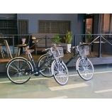 『maniacs STADIUMの自転車 無料貸出サービス』の画像