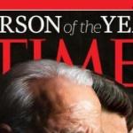 【画像】タイム誌「2020 Person of the Year」表紙に恐ろしい◯◯が写っている!