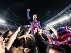 【 画像 】PSG戦終了後のメッシがまるで神!wwww