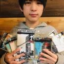 モンドが描いた福岡の風景画ポストカード付きラーメンが発売!