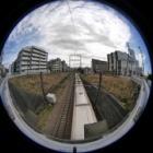 『円周魚眼レンズによるご近所散歩③ 2020/04/28』の画像