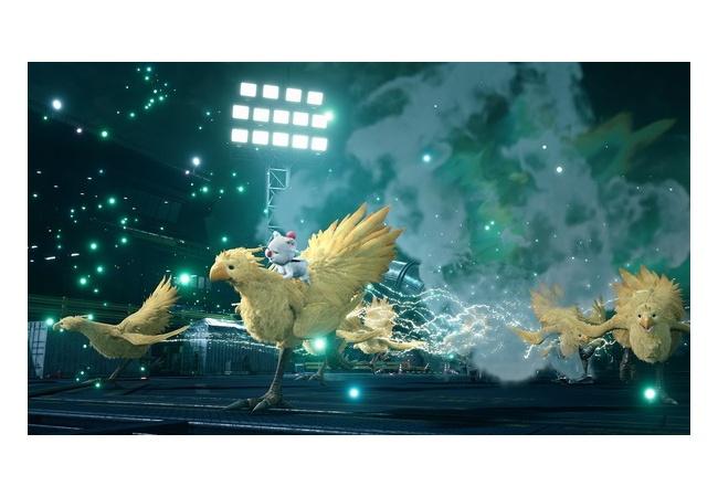 【画像】FF7R、リアルになったモーグリとチョコボがこちら