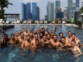 【画像】インテル長友さん、チーム全員でプールに行くwwwwwwwwwwwwwww
