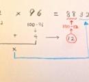かけ算の簡単な計算方法 マジ簡単