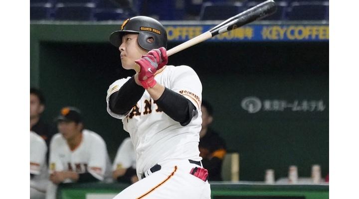 巨人・岡本和真(23) .460(50-23)5本  12打点  出塁率.518  OPS1.358
