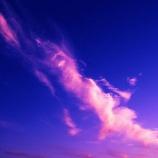 『【オカルト体験】私の行く先々で出会う「空の一点を見つめ続ける謎の男」』の画像