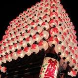 『射水市のお祭り!新湊曳山祭りに行ってきました!』の画像
