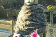 慰安婦像に日の丸、旭日旗を挿しただけで通報、大学生を任意同行「私は韓国が嫌いだ。日本人になりたい。日本が好きだ」