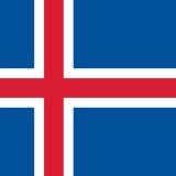 【画像】アイスランド国旗のカッコよさは異常wwwwwwww