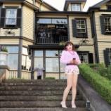 『【留美子讃歌 61】留美子さんの美しさが輝く山手通りウォーキング』の画像