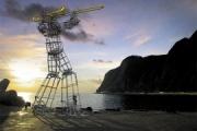 竹島への「テコンV」設置プロジェクトを断念 韓国人彫刻家