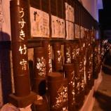 『【竹灯籠祭month】第22回(2018)うすき竹宵』の画像
