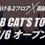 『六本木にクラブ「Cat's TOKYO」がNewOPEN!』の画像