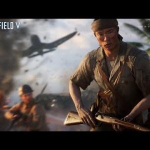 "『「Battlefield V」""Wake Island""マップの字幕入りゲームプレイトレーラーが公開』の画像"