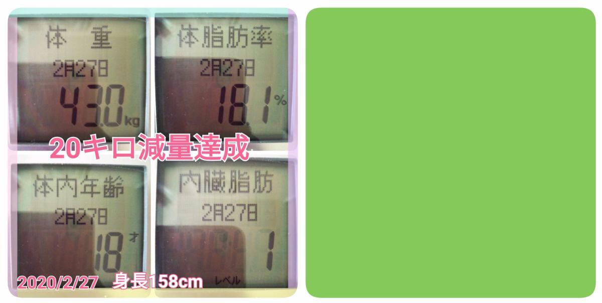 20キロ痩せるダイエット方法 イメージ画像