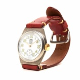 『【入荷】MOTO WT1W 腕時計 白盤×赤バンド (メンズ)』の画像