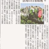 『(東京新聞)戸田市提供 生ごみ堆肥 活用の白菜収穫 美里町』の画像