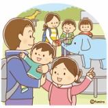『【クリップアート】動物園に行く家族のイラスト』の画像