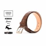 『入荷 | KREIS (クライス) KSB005 35mm 1枚革カイマン SILVERバックル』の画像