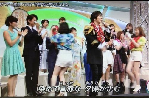 山田涼介に花飾りをかけた笠原桃奈wwwwwwのサムネイル画像