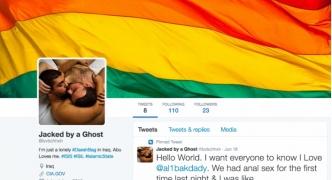 【悲報】ISISさん、twitter垢を乗っ取りホモ画像で埋め尽くしたハッカーに殺害予告をする
