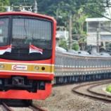 『メルヘンもお召し!!独立75周年ジャカルタの日本型電車2020』の画像