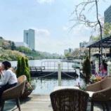『カナルカフェでお花見ランチ』の画像